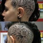 Head steampunk Tattoo