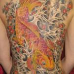 Wonderful koi tattoo
