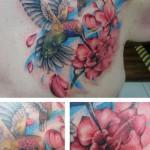 alexis thomson hummingbird tattoo