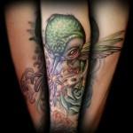 hummingbird tattoo animated