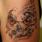 Owl tattoo great design