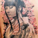 Geisha tattoo by John Maxx