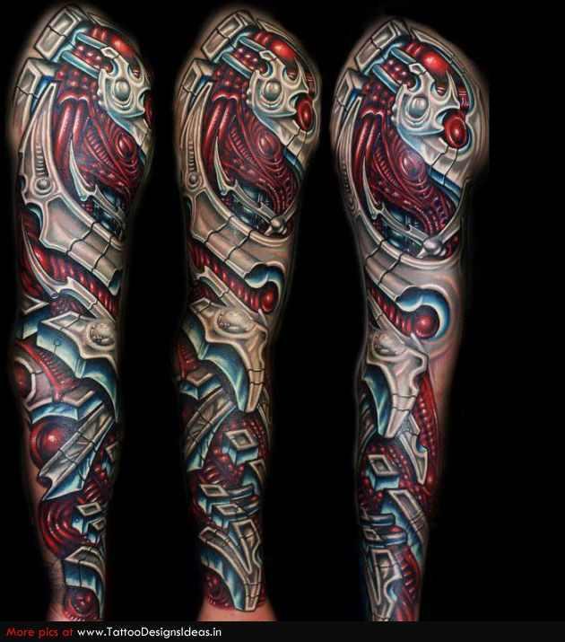 biomechanical tattoo 5