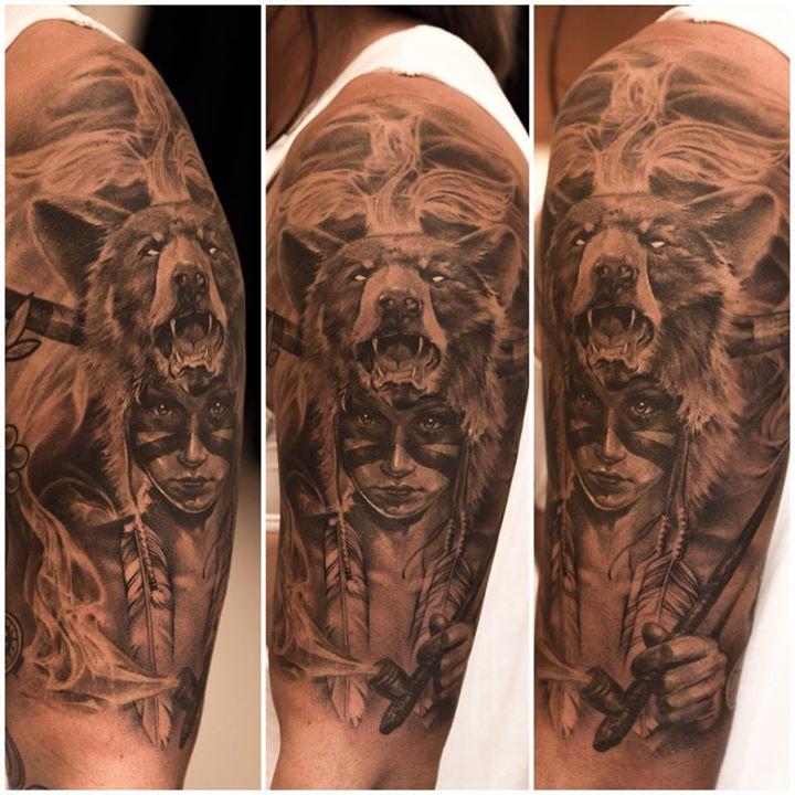 American native tattoo - niki norberg