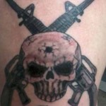 cool military tattoo design