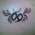 cute cancer tattoo design