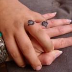 eyes wedding ring tattoo design