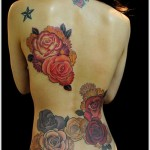 fullback rose tattoo