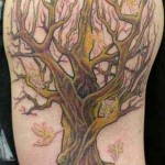 tree of life tattoo design for men