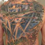great military tattoo design