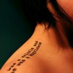 quote love tattoo