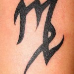 simple virgo tattoo
