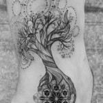 wonderful tree of life tattoo design