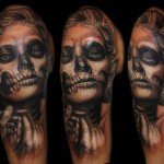 Csaba Kolozsvari black sleeve tattoo design