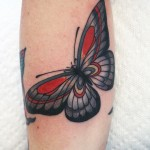 Cris Cleen butterfly tattoo design
