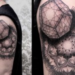 Chaim Machlev cool half sleeve tattoo