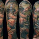 Csaba Kolozsvari cool tattoo design