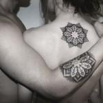 Chaim Machlev couple tattoo