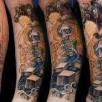 Csaba Kolozsvari creative tattoo design