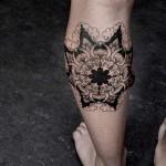 Chaim Machlev cute leg tattoo