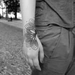 Chaim Machlev cute tattoo design