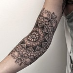 Chaim Machlev sleeve tattoo design