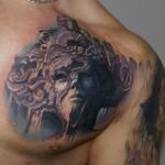 Csaba Kolozsvari awesome tattoo design