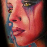 Mario Hartmann amazing portrait tattoo