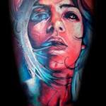 Mario Hartmann realistic portrait tattoo design