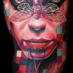 Mario Hartmann creative portrait tattoo