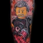 Max Pniewski cretive legolism tattoo