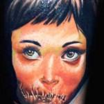 Janos Kovarik cute portrait tattoo
