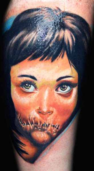 Janos Kovarik cute portrait tattoo