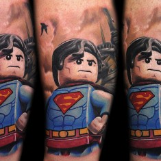 Max Pniewski interesting legolism tattoo