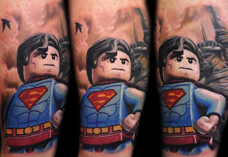 Max Pniewski interesting legolism tattoo