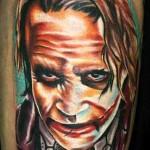 Janos Kovarik joker tattoo design