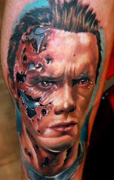 Janos Kovarik movie character tattoo design
