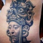 Sergio Sanchez realistic black and white tattoo
