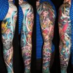 James Tex realistic full sleeve