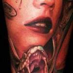 Mario Hartmann realistic portrait tattoo