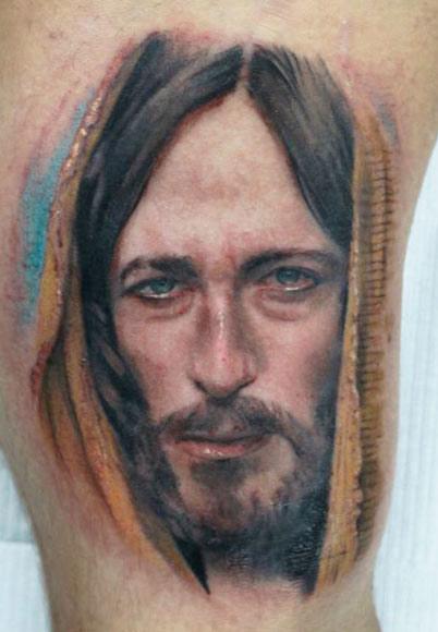 Darwin Enriquez awesome realistic portrait tattoo design
