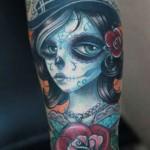 Darwin Enriquez unique portrait tattoo design