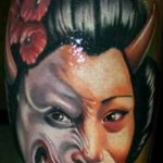 Janos Kovarik cool portrait tattoo