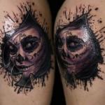 amazing spade tattoo design