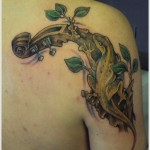 lizard tattoo for men