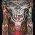 cool yakuza tattoo