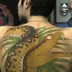 impressive back yakuza tattoo