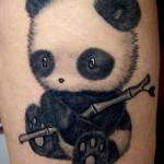 baby panda tattoo
