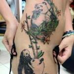 large scale panda bear tattoo