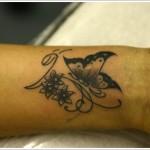 cute butterfly tattoo